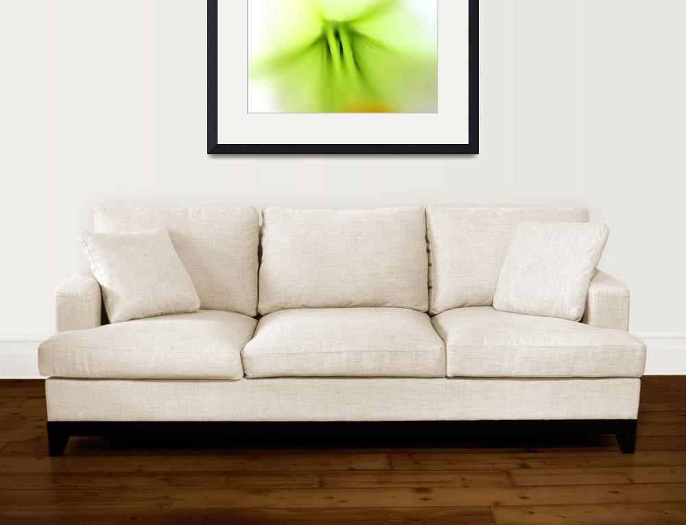 """""""Lily Abstract 2016 number 2&quot  (2016) by KsWorldArt"""