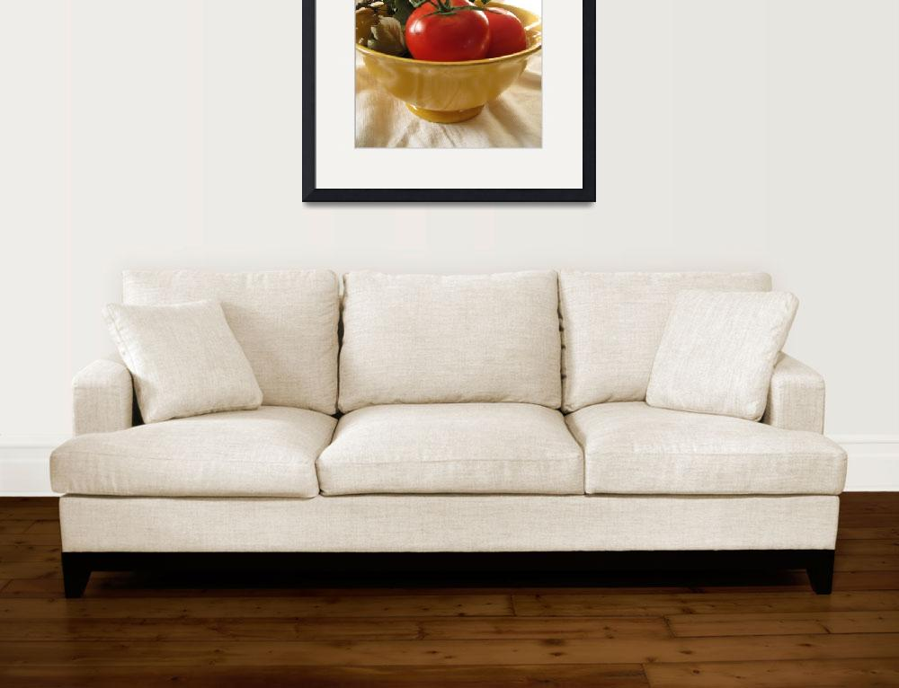 """""""Tomato Still Life&quot  (2009) by LindieRacz"""