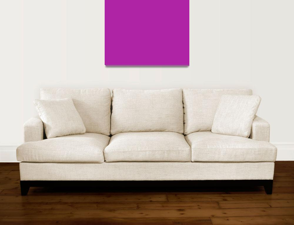 """""""Square PMS-253 HEX-AF23A5 Purple Violet&quot  (2010) by Ricardos"""