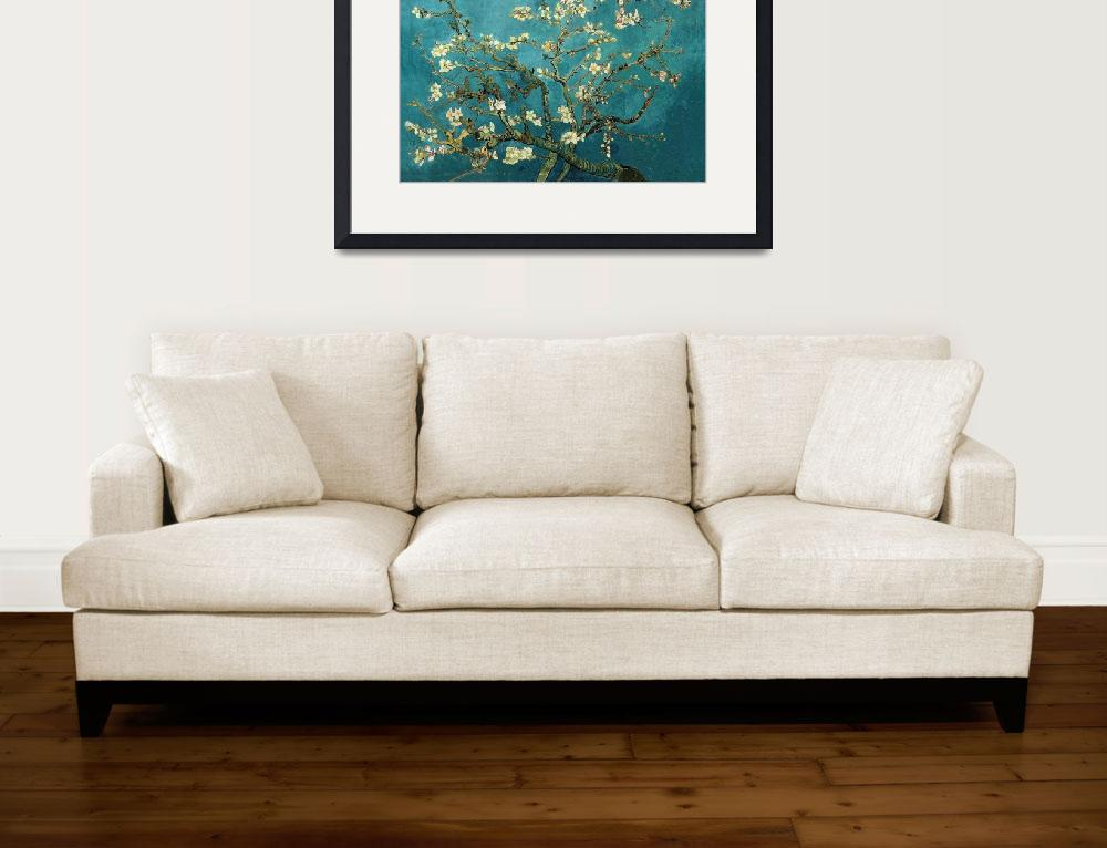 """Vincent van Gogh - Blossoming Almond Tree""  by masterpiecesofart"