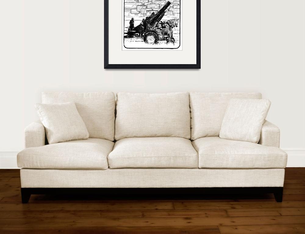 """""""cannontractor&quot  (2007) by JOHNVANCE"""