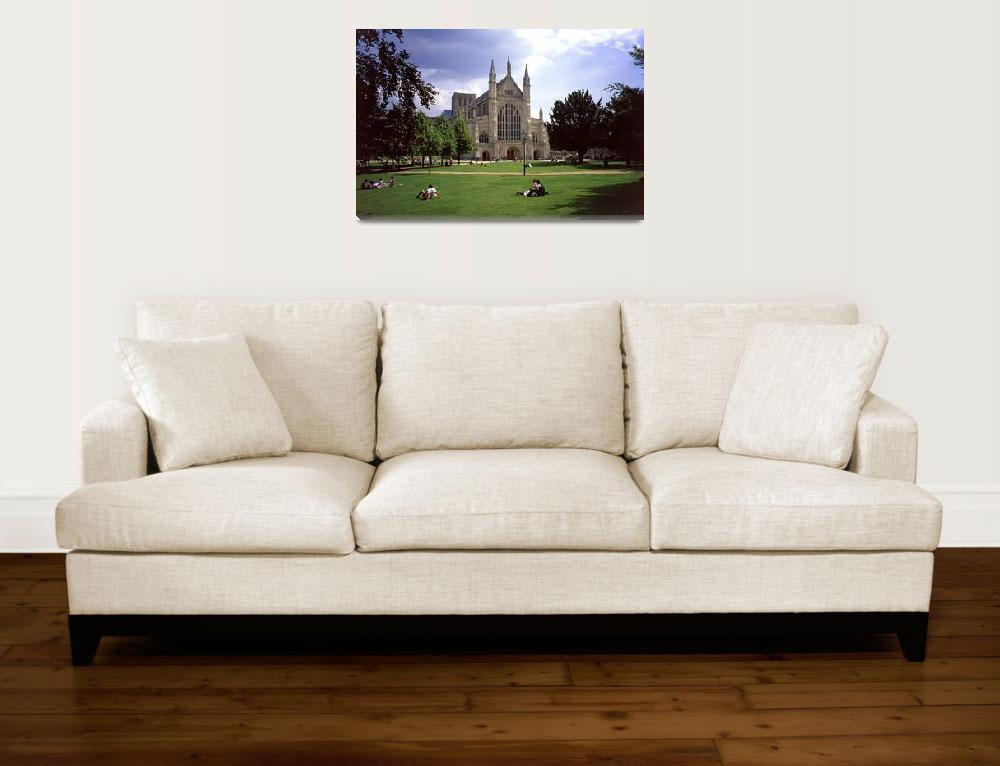 """""""Winchester Cathedral 6""""  (1999) by PriscillaTurner"""