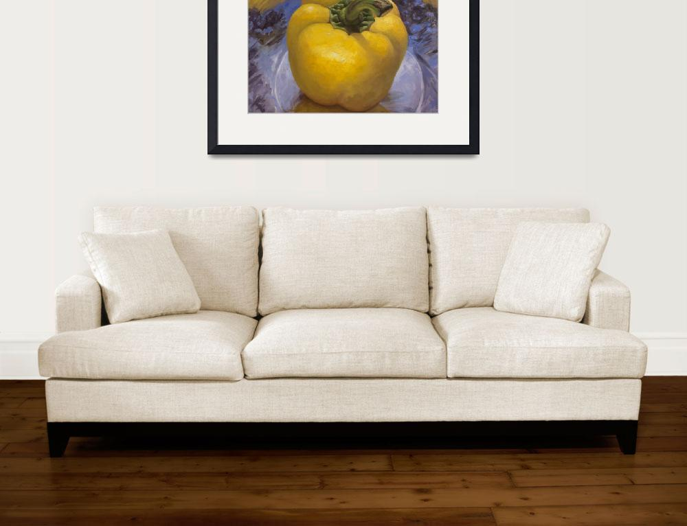 """Yellow Pepper&quot  (2011) by tinamalonis"