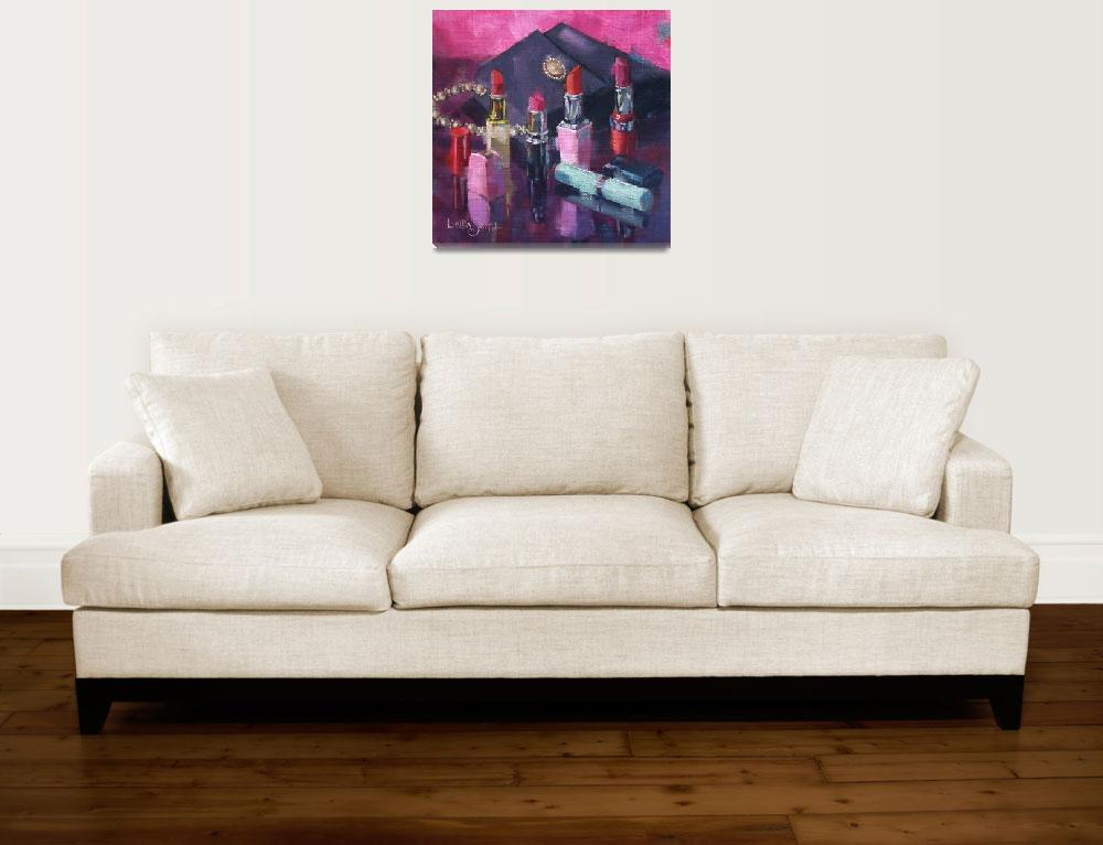 """""""Pretty and Pink""""  (2016) by offthewallart"""