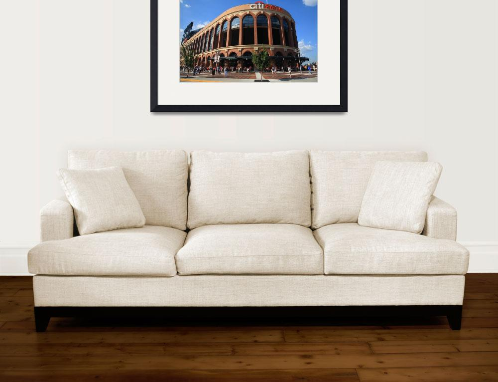 """""""Citi Field - New York Mets&quot  (2011) by Ffooter"""