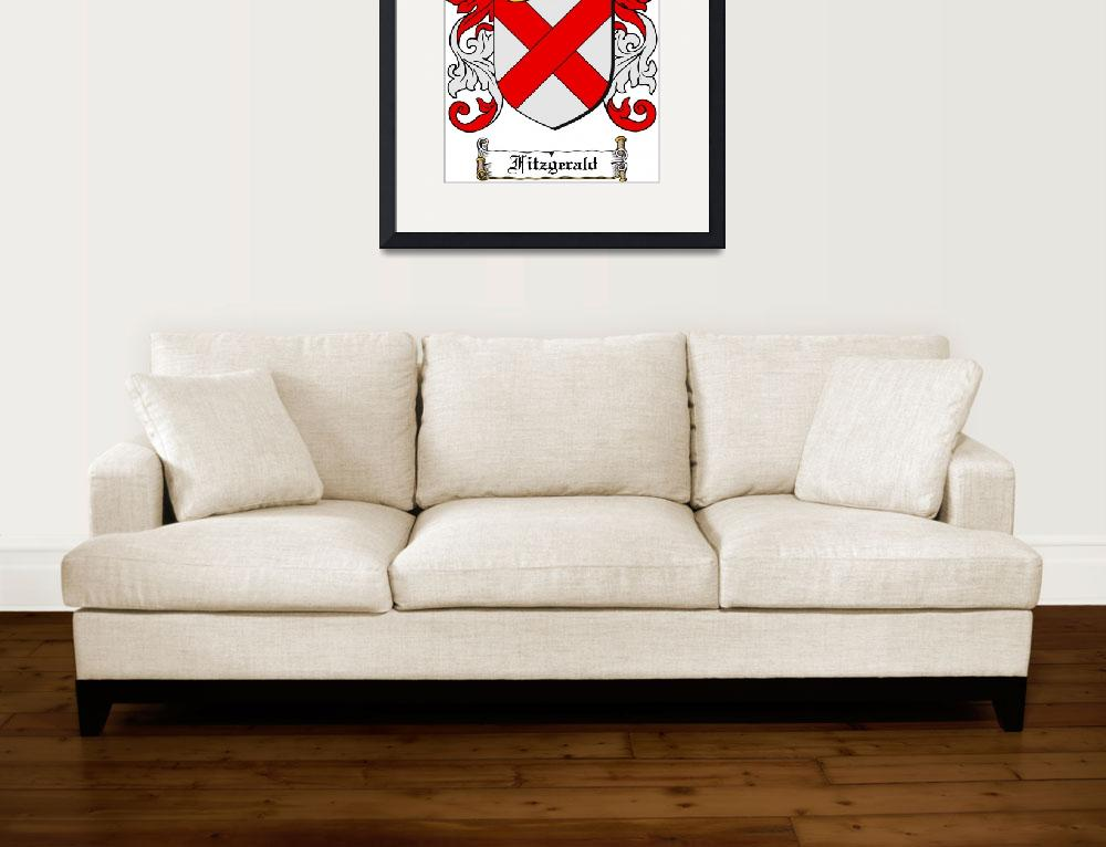 """""""FITZGERALD FAMILY CREST - COAT OF ARMS&quot  by coatofarms"""