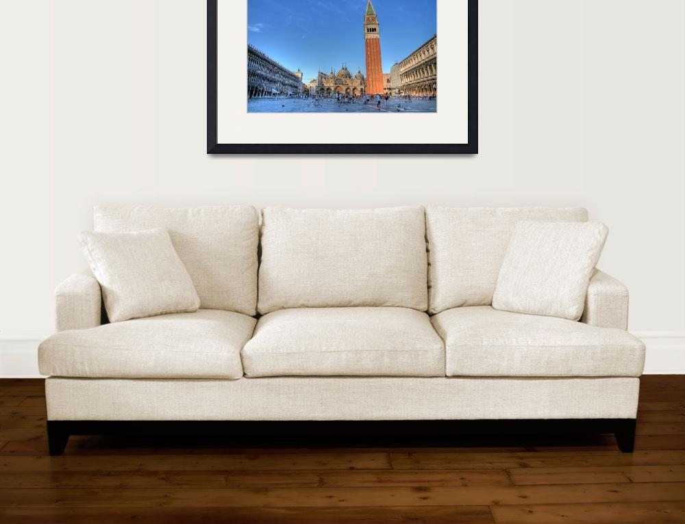 """""""Piazza San Marco&quot  (2007) by scingram"""