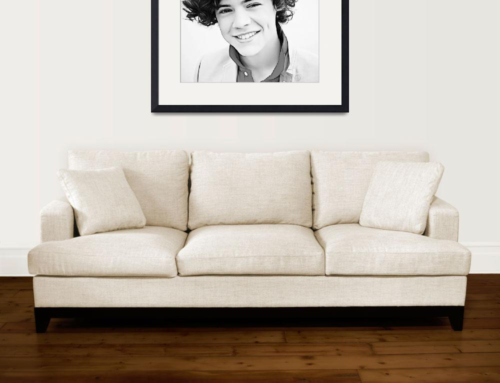 """""""Harry Styles""""  (2012) by D77TheDigArtisT"""