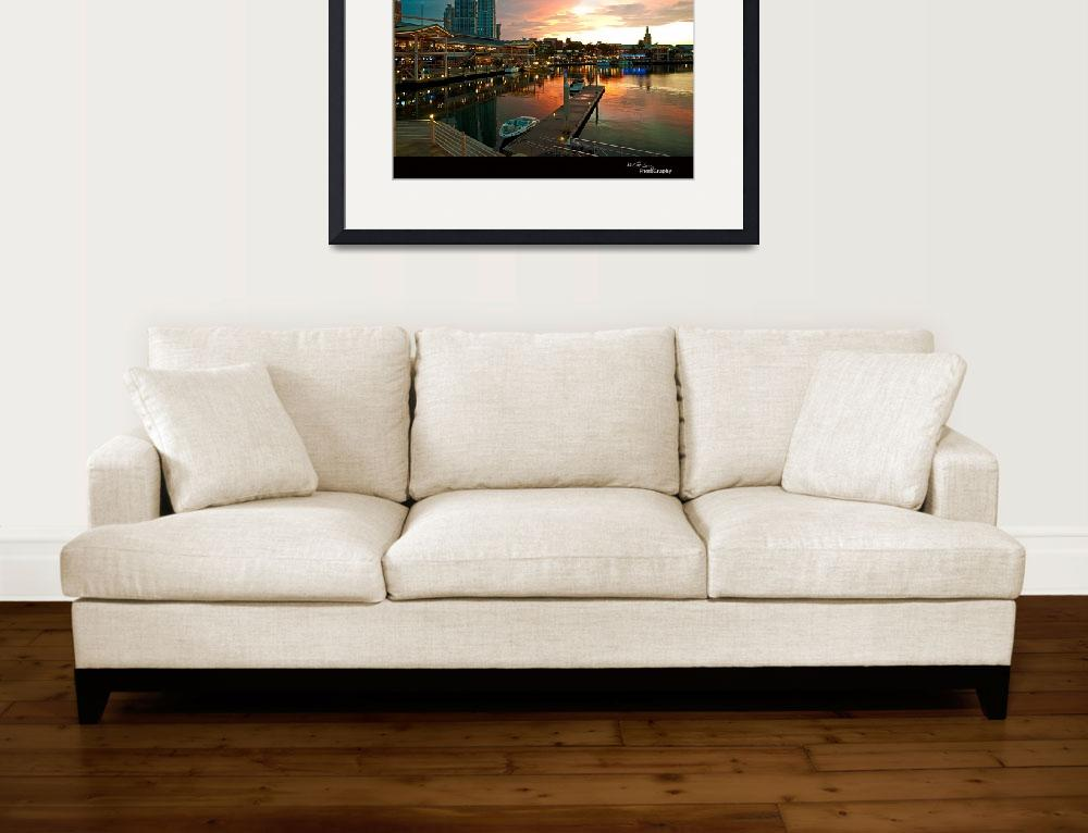 """""""MIAMI BAYSIDE&quot  (2009) by HGLPhotography"""