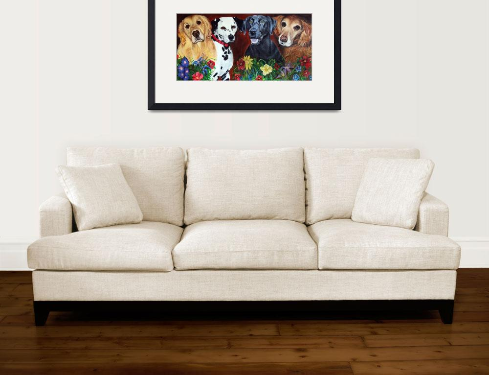 """""""Bright and Beautiful - """"The Hearts of Therapy""""&quot  (2007) by ArtPrints"""