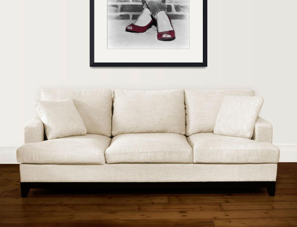 """""""Red Shoes&quot  (2011) by mellowone"""
