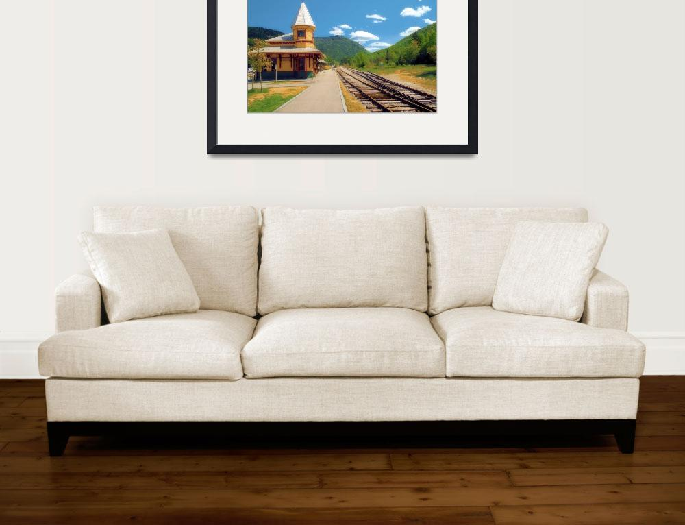 """""""Station at Crawford Notch""""  (2009) by doncon402"""