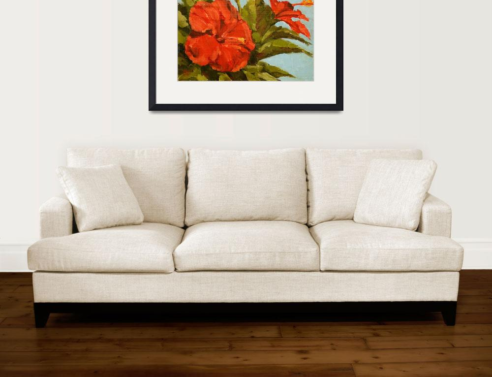 """""""Florida Hibiscus&quot  by davidwesterfield"""