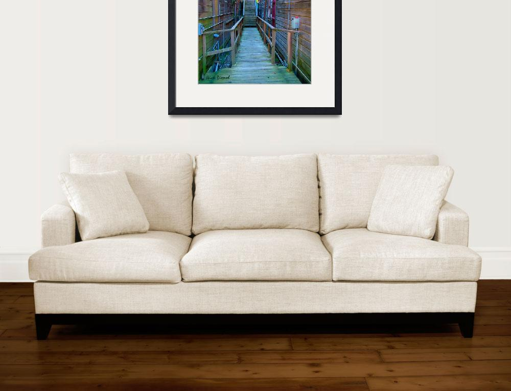 """""""Locke Staircase&quot  (2011) by nicoindo"""