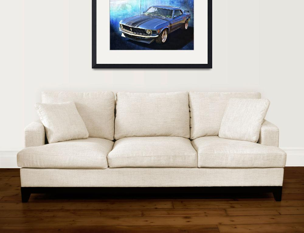 """Boss 302 Mustang&quot  (2011) by StuartRow"