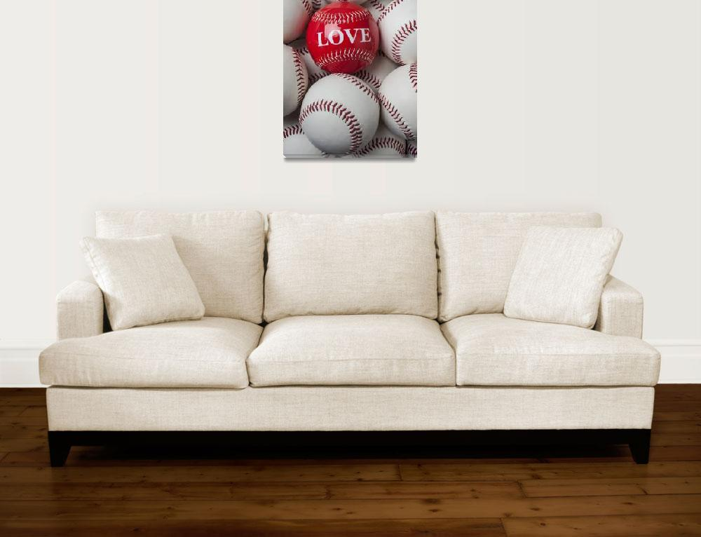 """Love baseball&quot  (2012) by photogarry"