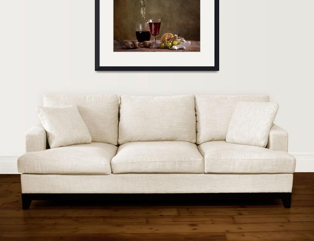 """""""Wine and Fruits&quot  (2010) by nailiaschwarz"""