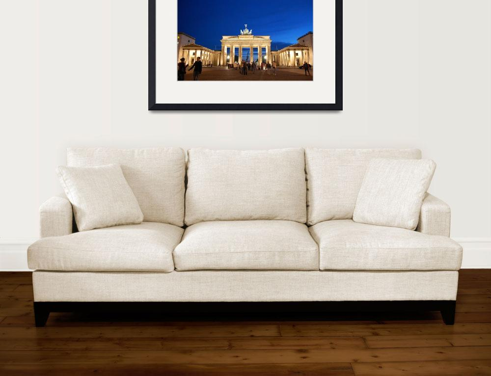 """""""Brandenburger Tor by night&quot  by ciaron"""