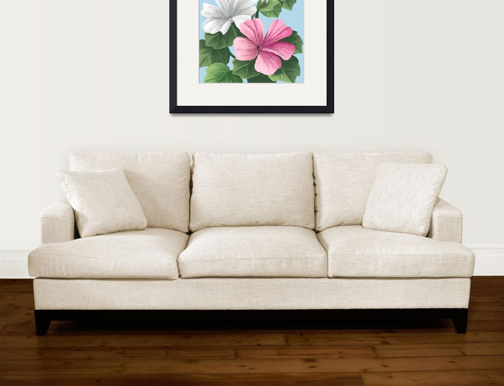 """Floral Painting""  by waterart"