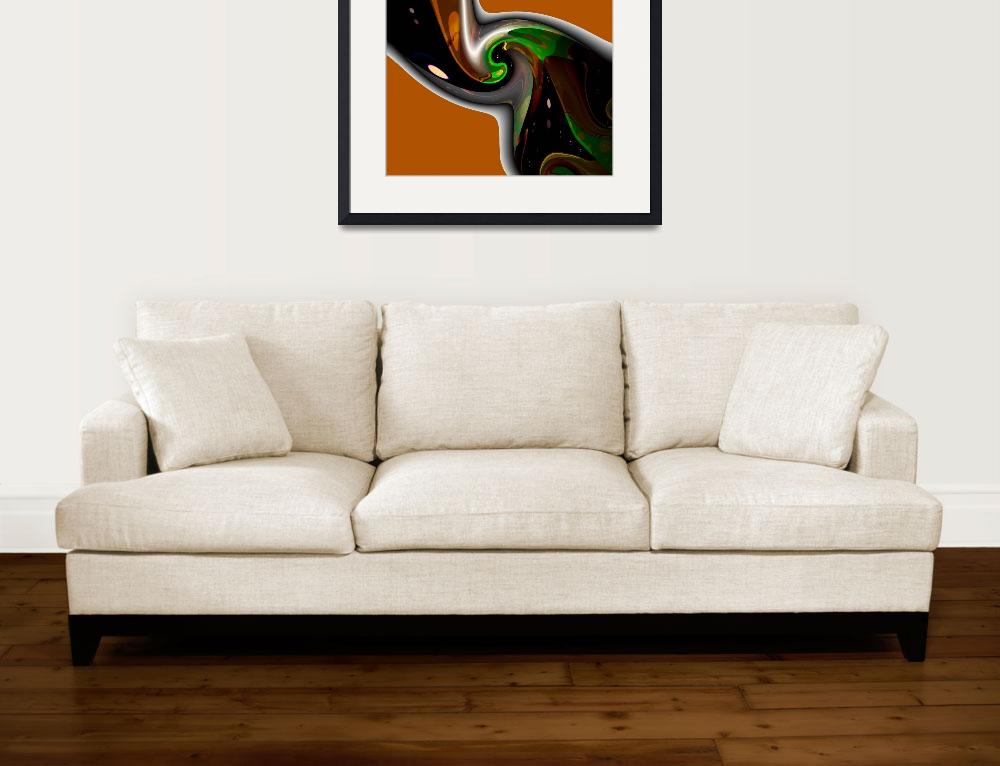 """Caramel Twist&quot  (2008) by ArtPrints"