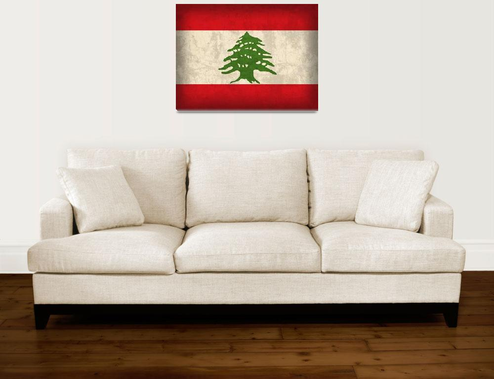 """Lebanon&quot  by artlicensing"