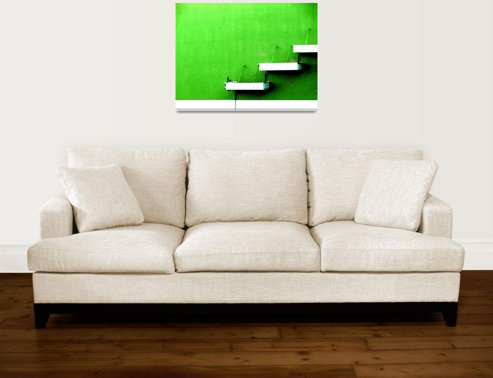 """green wall""  (2007) by KatieAshdown"
