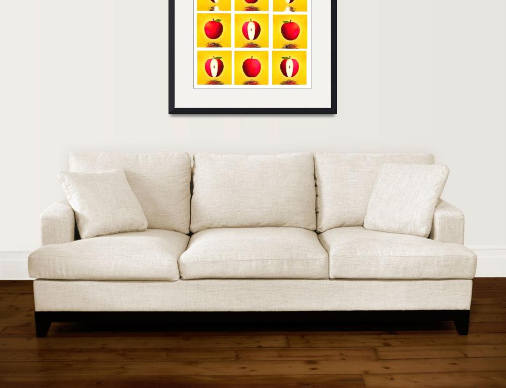"""""""Red apples&quot  (2007) by rommelpinkus"""