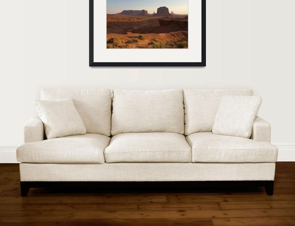"""Monument Valley, Utah/Arizona Border&quot  by DesignPics"