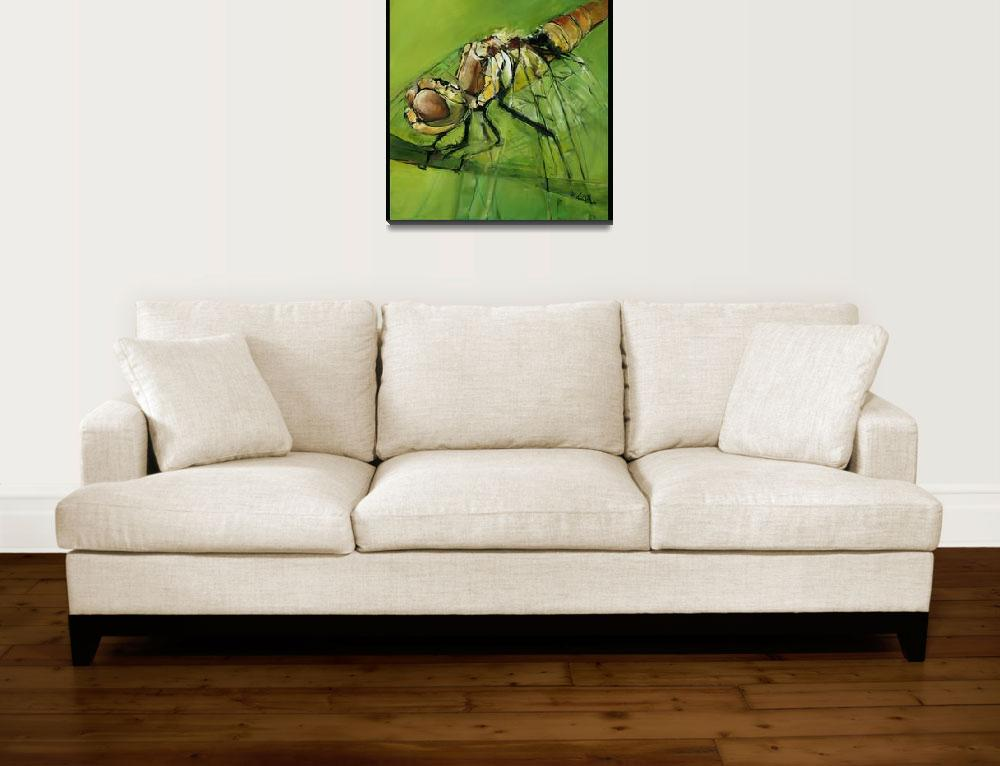"""Dragon Fly""  (2008) by drewdavisfineart"