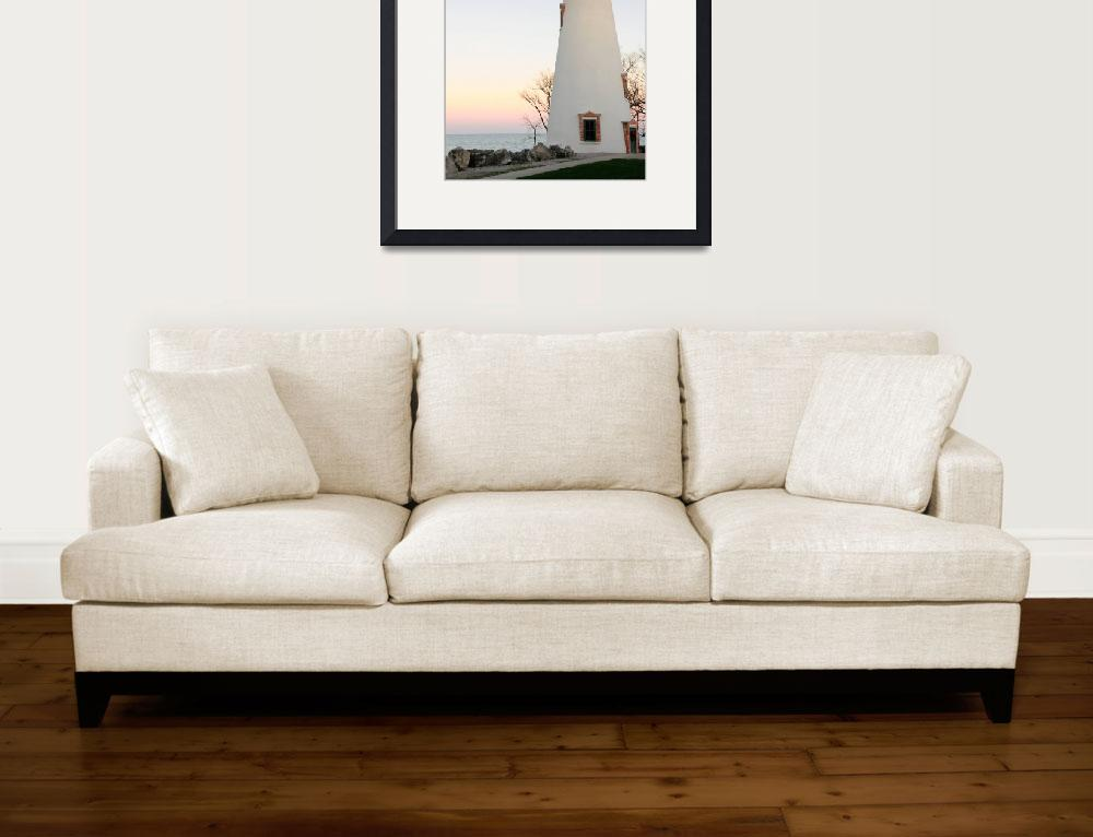 """""""Marblehead Lighthouse&quot  (2009) by Anthemrdr"""