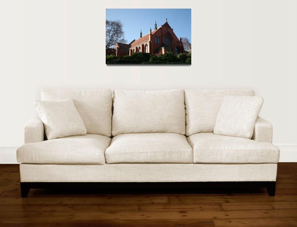 """""""RED BRICK CHURCH 2&quot  by ccrcats"""