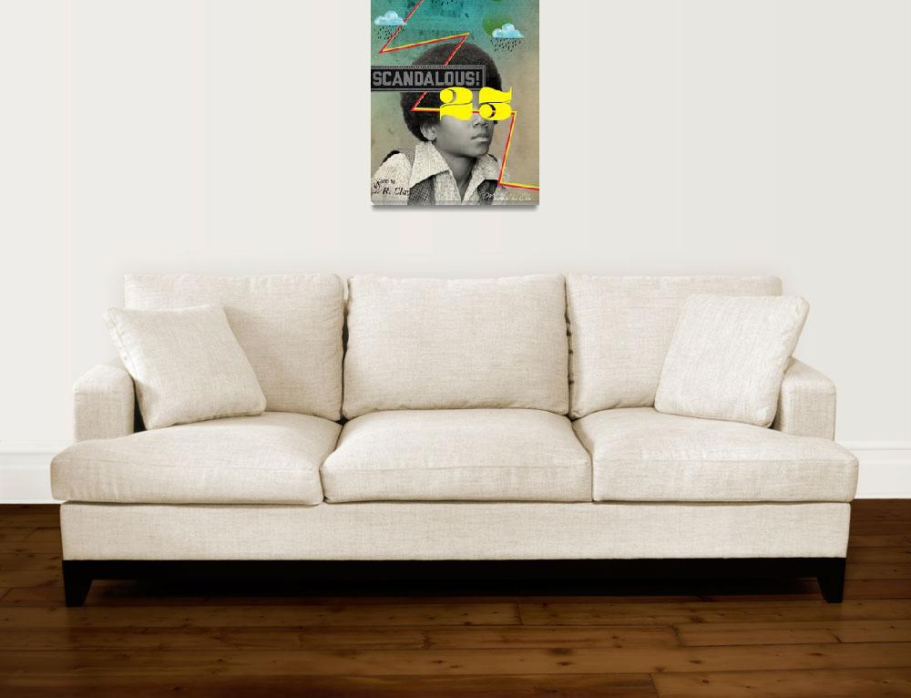 """Public Figures Collection - Michael Jackson&quot  (2012) by elodesigner"
