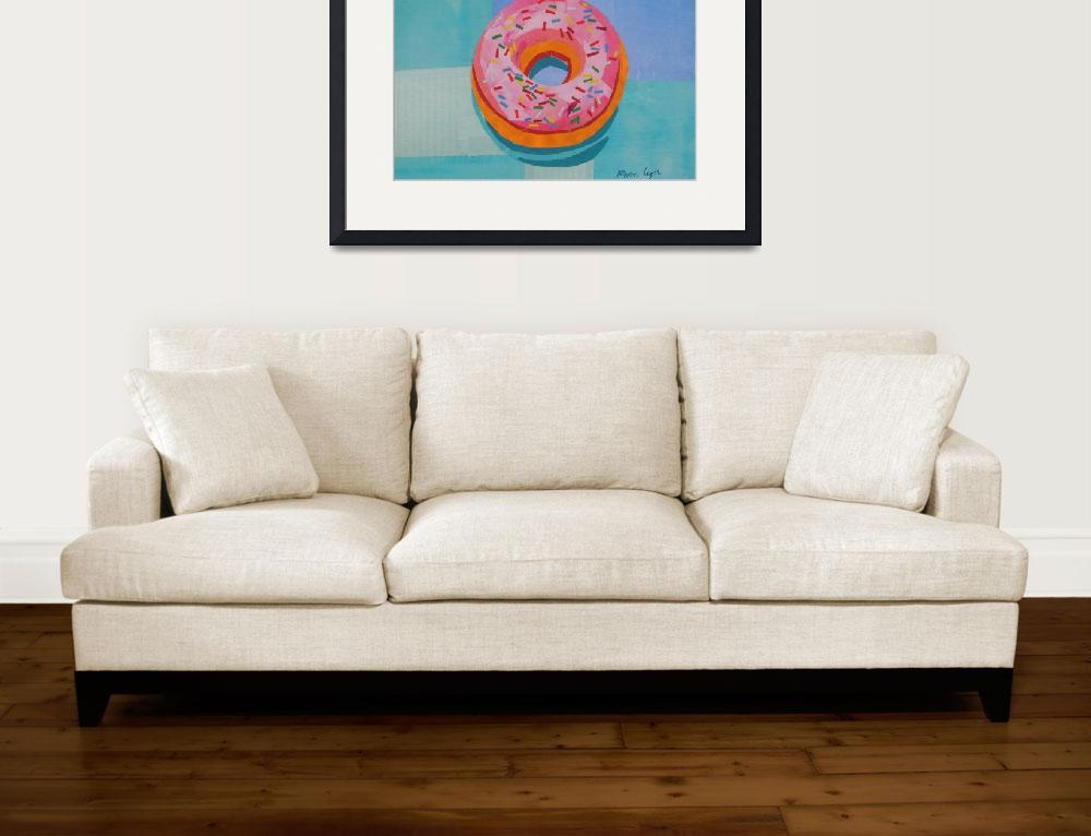 """""""Donut Worry&quot  (2018) by megancoyle"""