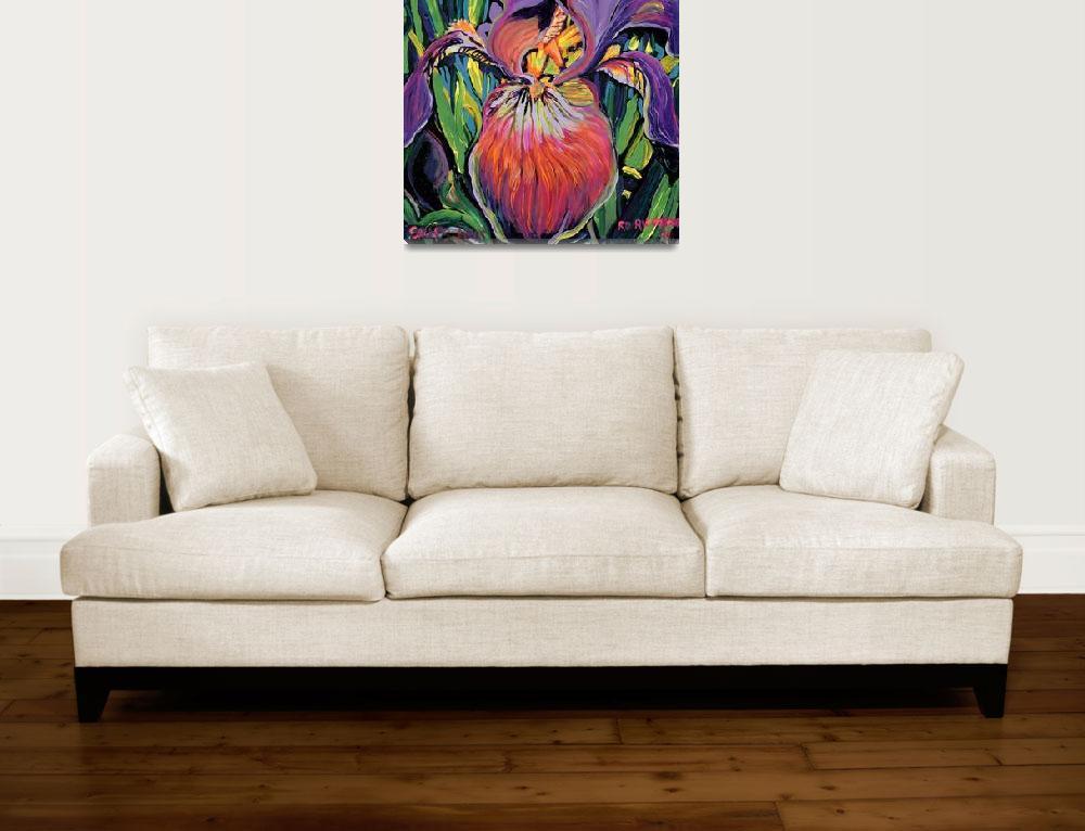 """Purple Iris by RD Riccoboni&quot  (1994) by RDRiccoboni"