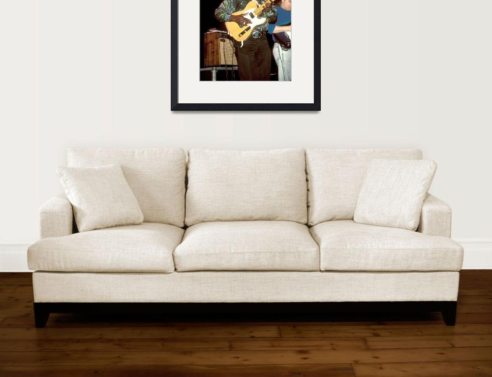 """Guitarist Albert Collins&quot  by FrontRowPhotographs"