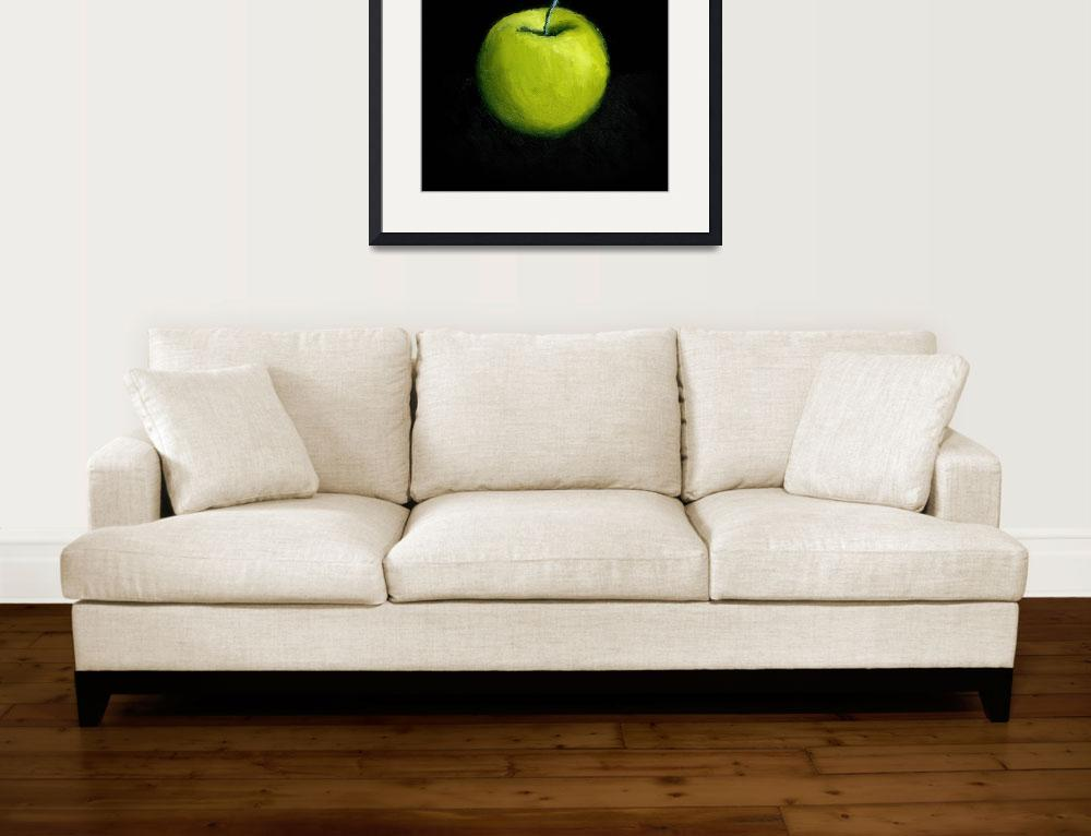 """""""Green Apple Still Life&quot  (2007) by Michelle1991"""