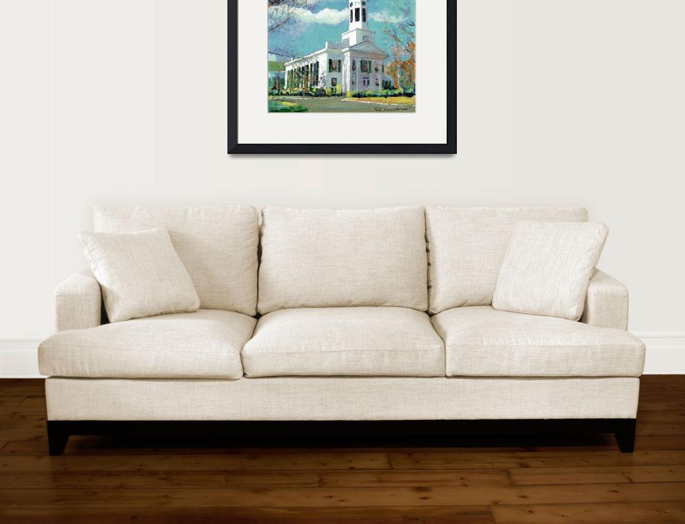 """New England Paintings poster print&quot  by RDRiccoboni"