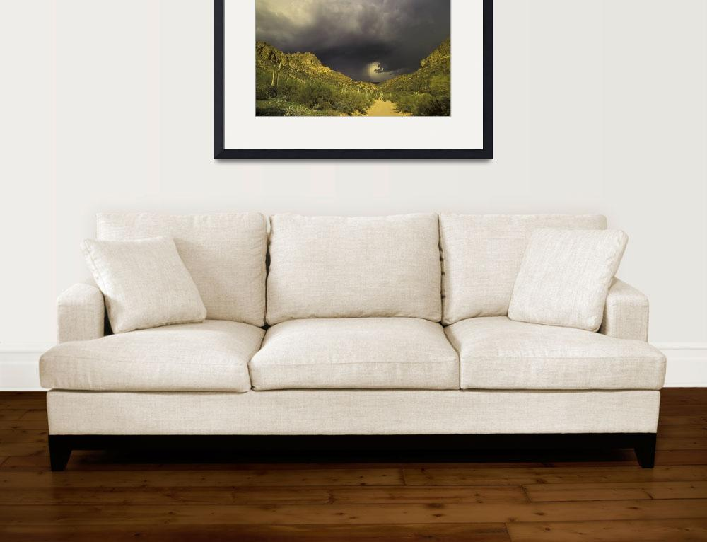 """""""Storm Over Superstition Mountain&quot  (2005) by SailGuy"""