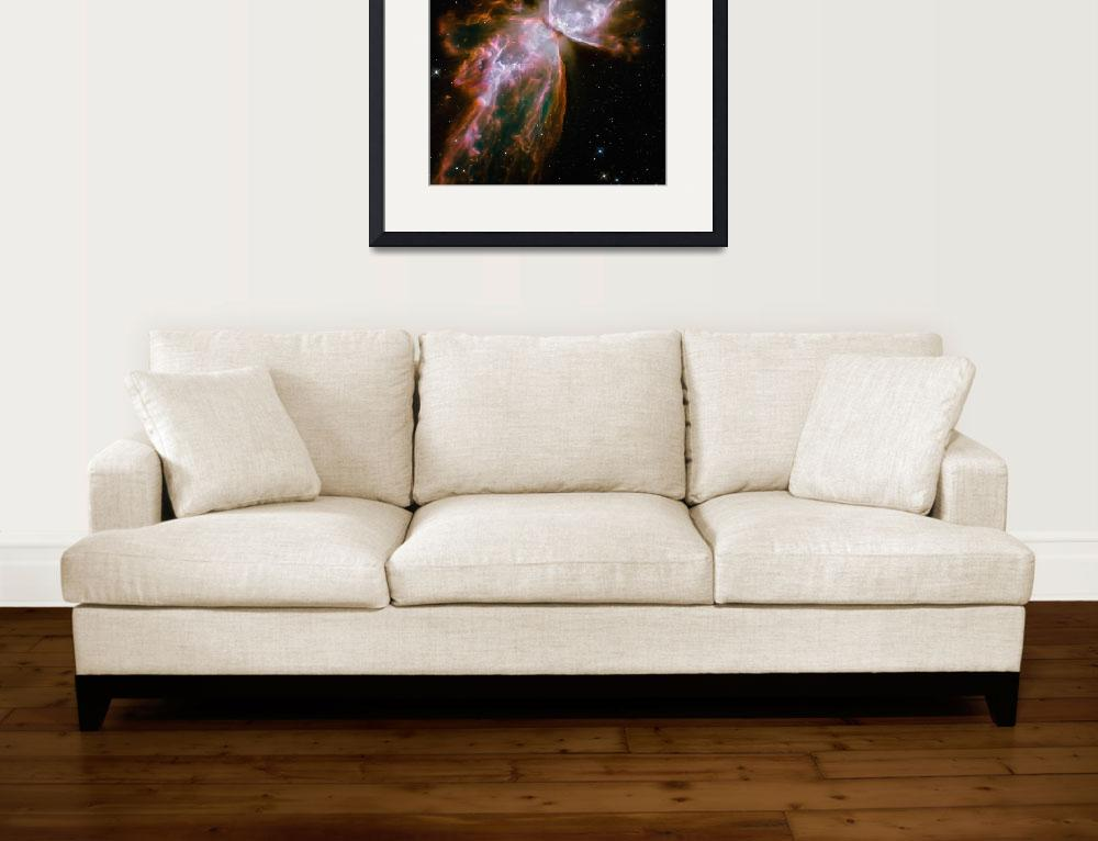 """""""The Butterfly Nebula&quot  by stocktrekimages"""
