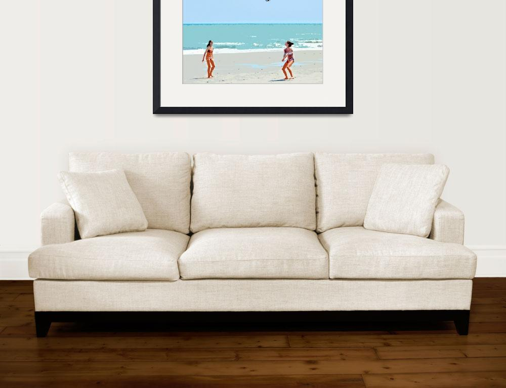 """""""Beach Vollyball&quot  (2012) by ajc401"""