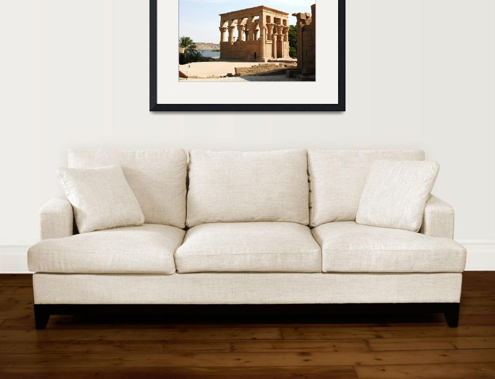 """Temple of Philae, Egypt""  (2008) by CarrieWaters"