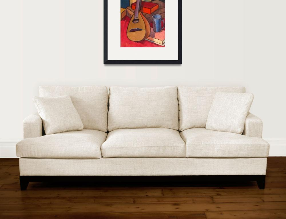 """""""Guitr and Cup&quot  by billwaithe"""