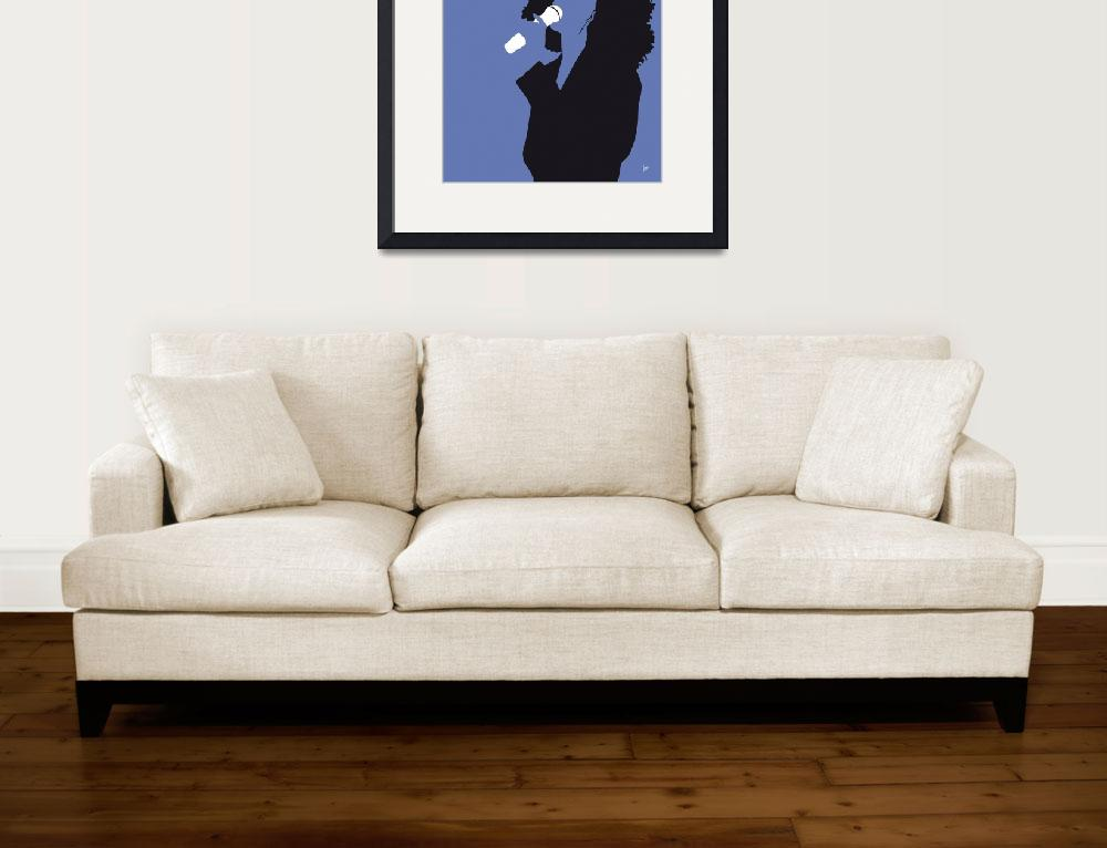 """""""No108 MY Whitney Houston Minimal Music poster&quot  by Chungkong"""