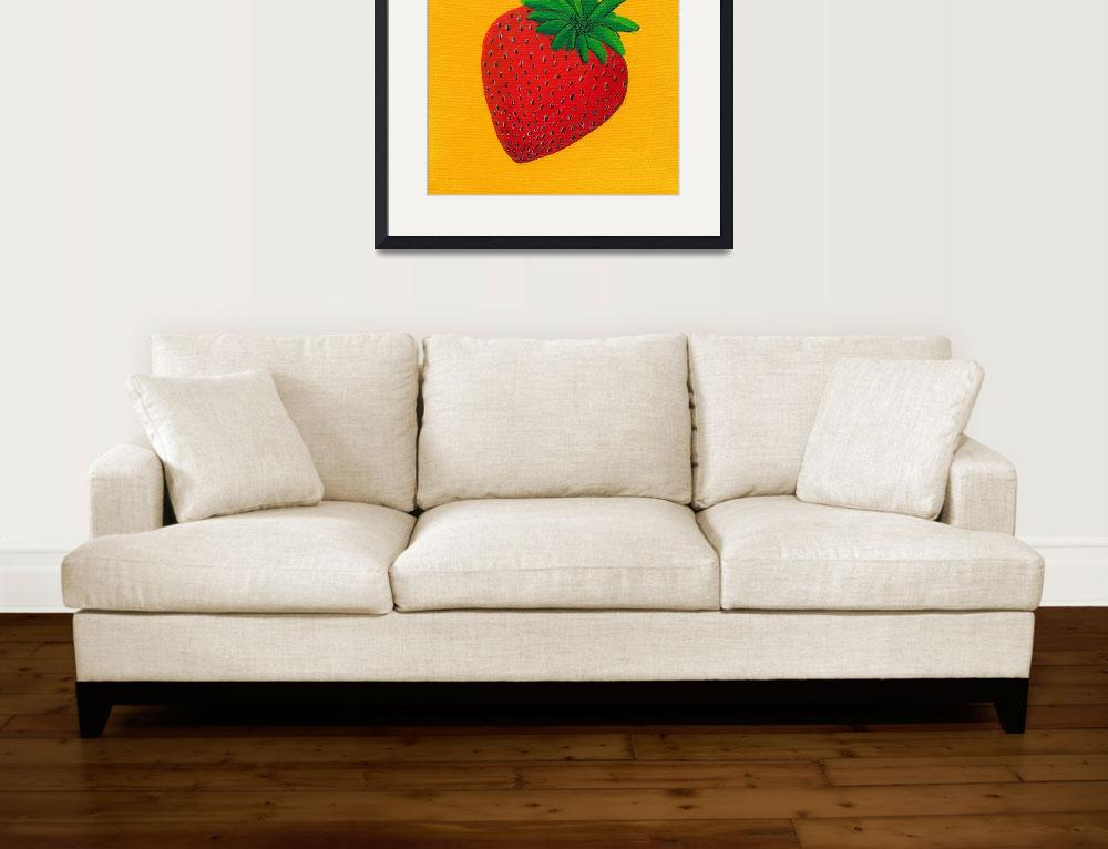 """S Is For Strawberry&quot  (2010) by LibbyJohnston"