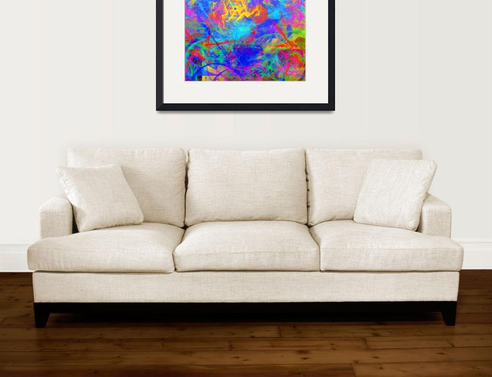 """""""Colour Chaos""""  (2014) by Icarusismart"""
