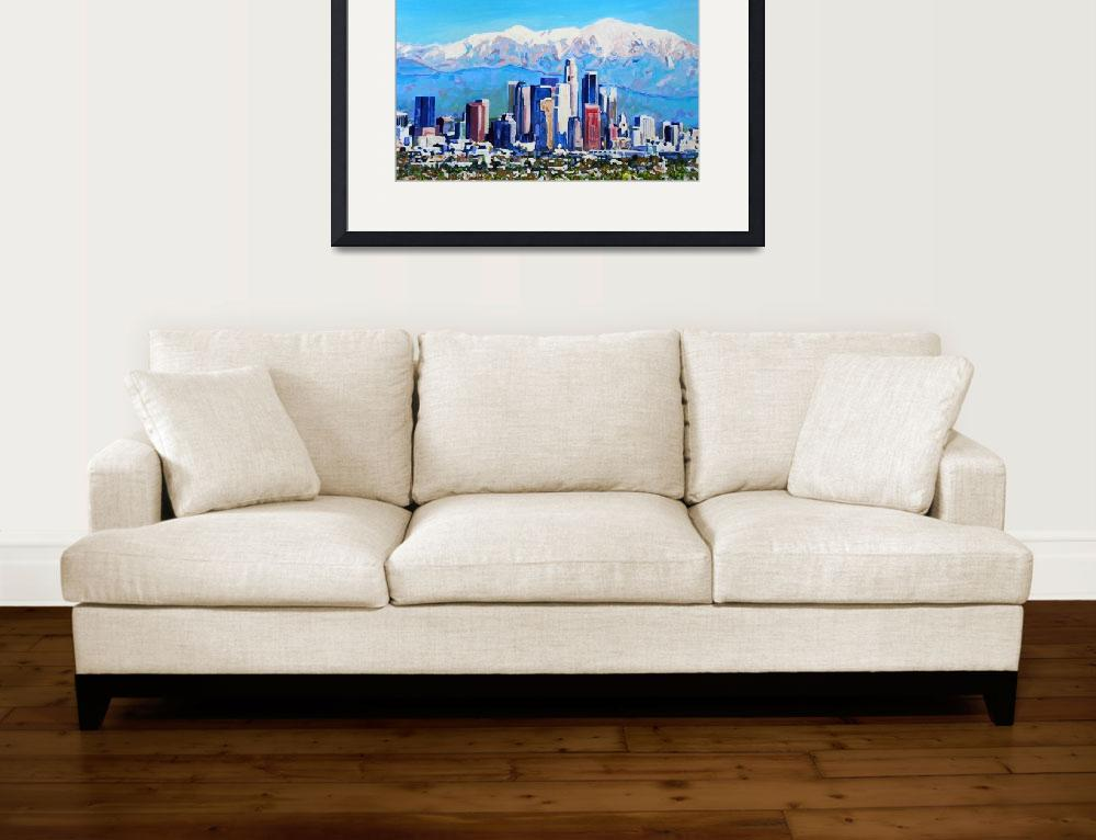 """""""City of Angeles Los Angeles&quot  (2015) by RDRiccoboni"""