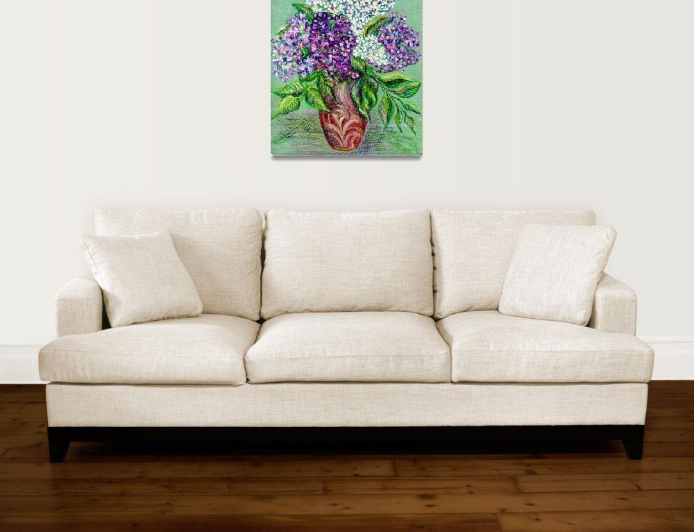 """Lilac flowers""  (2015) by olgart"