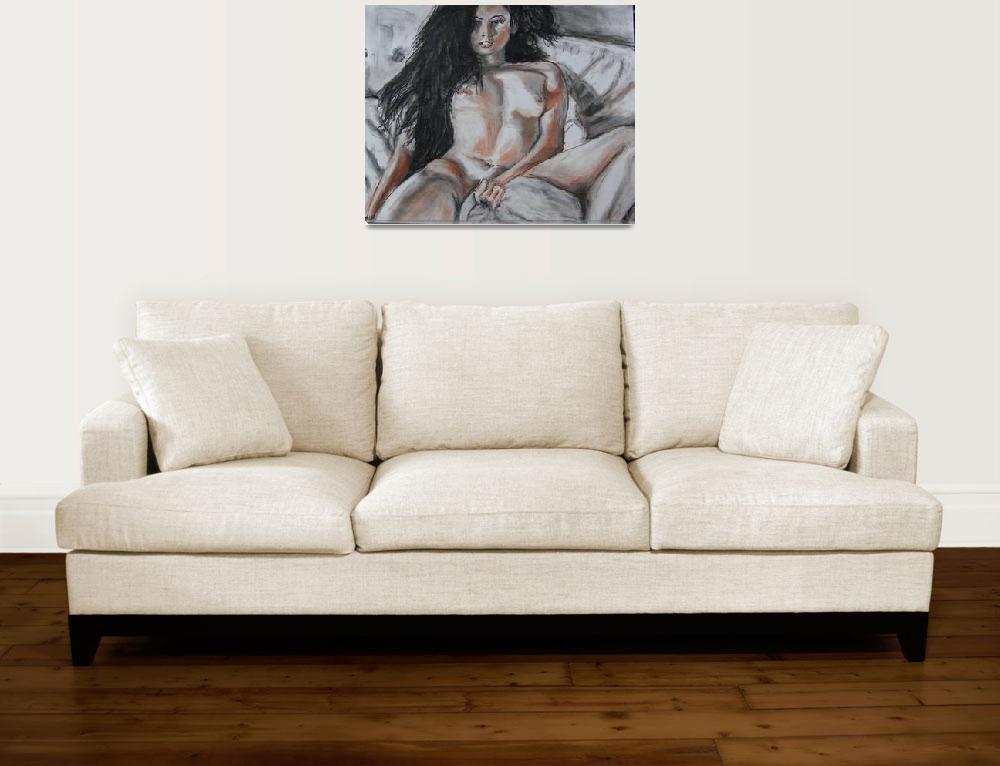 """Nude#1""  (2013) by markrobbart"