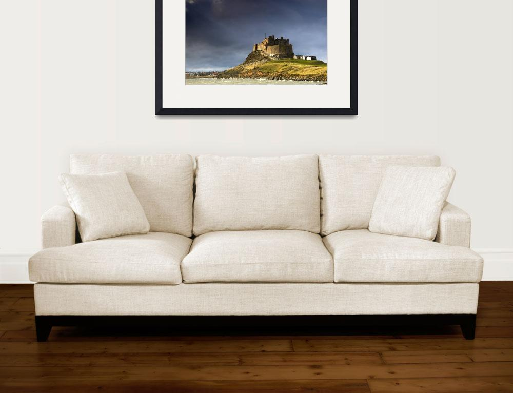 """Lindisfarne Castle On Beblowe Craig, Holy Island,""  by DesignPics"
