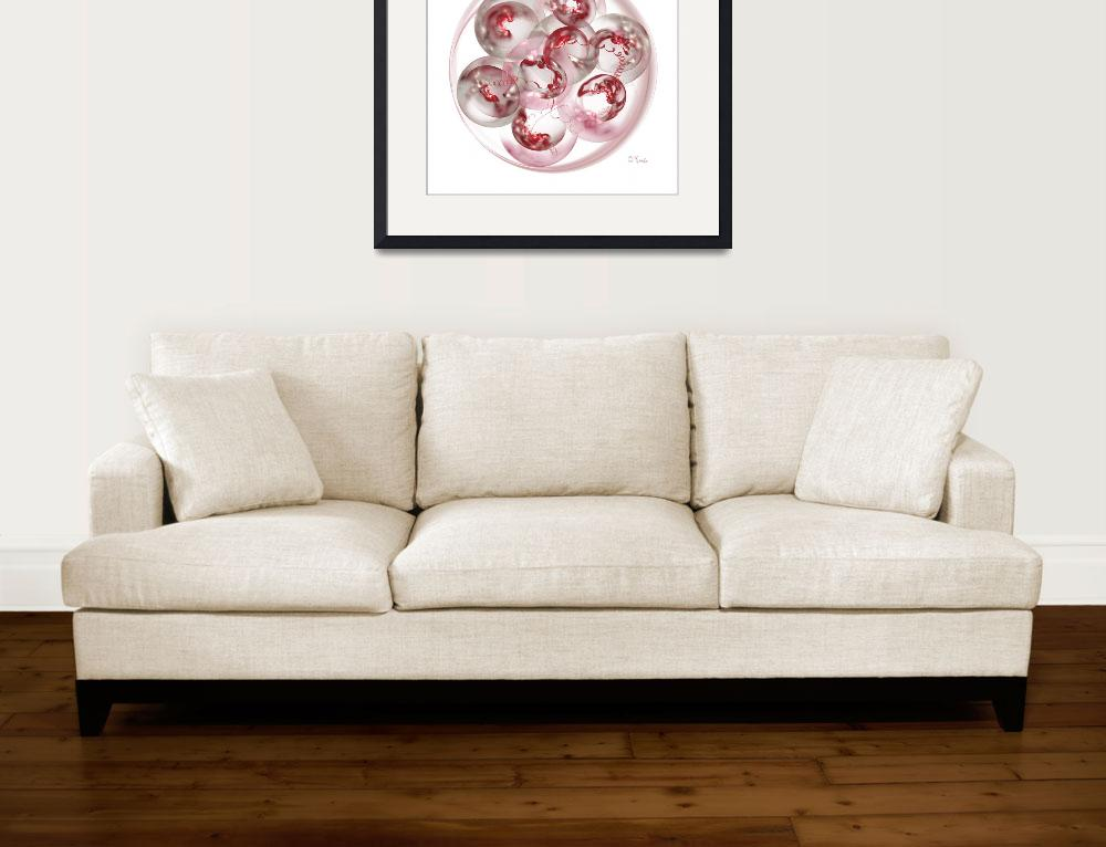 """""""Mitosis on White&quot  (2009) by PatriciaKemke"""